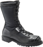 "Mens 10"" Waterproof Non-Metallic Toe Search and Rescue Boot - Black"