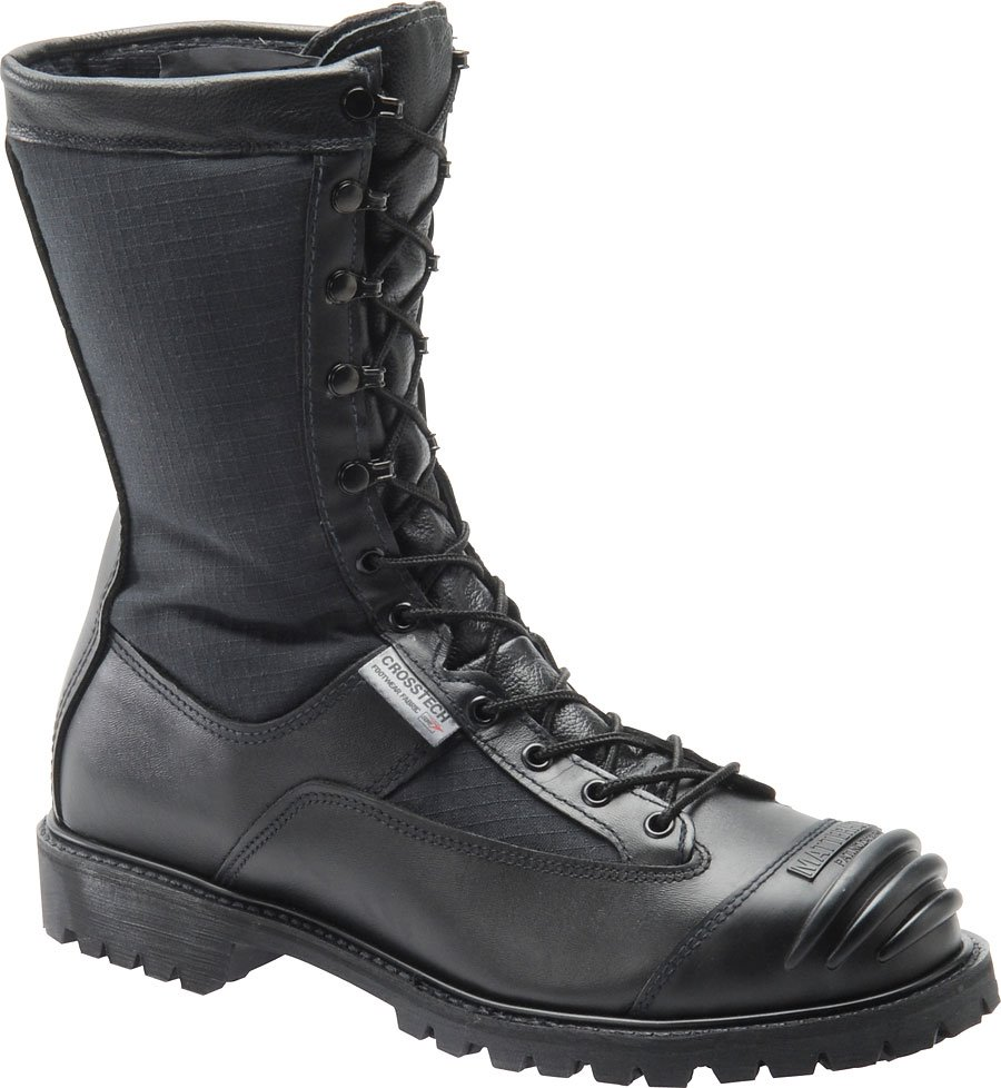 Matterhorn 10 Inch WP Leather Nomex Kevlar Ripstop Search Rescue : Black - Mens