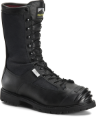 "Men's 10"" Waterproof Steel Toe Internal Metguard Search and Rescue Boot - Black"