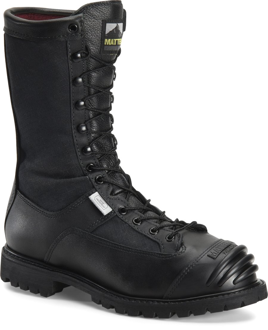 Matterhorn 10 Waterproof Search Rescue Boot : Black - Mens