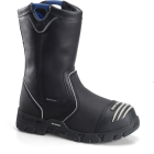 "Mens 10"" Waterproof Internal Metguard Ranch Wellington - Black"