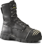 "Men's 8"" Waterproof Internal Metguard Boot - Black"