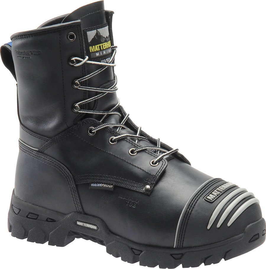 Matterhorn 8 Inch WP Insulated Int Metguard : Black - Mens