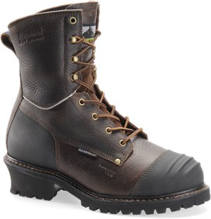 Dark Brown Matterhorn 8 Inch Brown WP Insulated  Logger