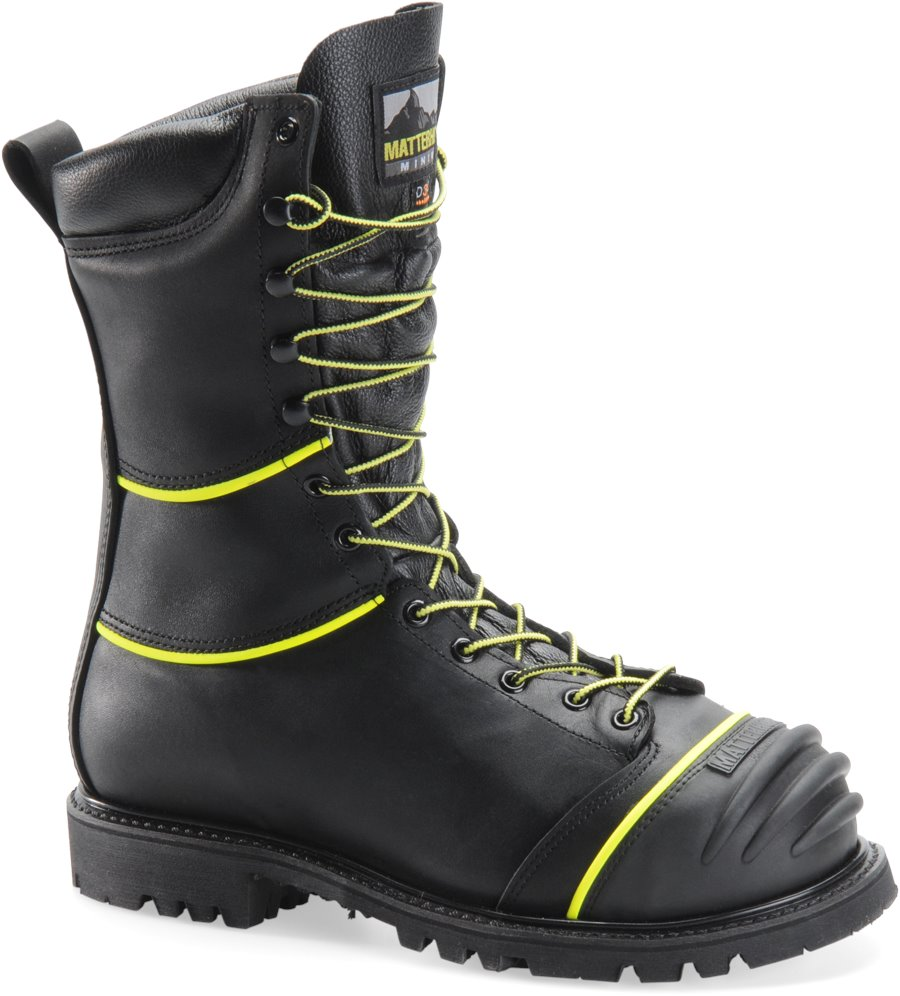 Matterhorn 10 Inch WP Insulated D3O Int Metguard : Black - Mens