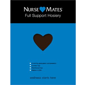 Coffee Bean Nurse Mates Full Support Hosiery