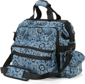 Denim Floral Nurse Mates Ultimate Nursing Bag