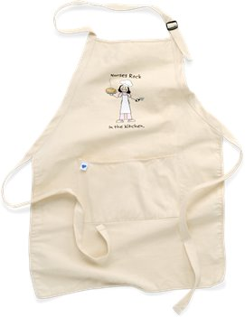Natural Nurse Mates Nurses Rock Apron