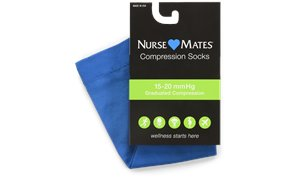Electric Blue Nurse Mates Medical Compression Microfiber