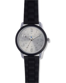 Black Nurse Mates Favorite  Ring Dial Watch