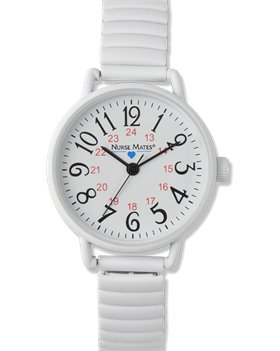 White Nurse Mates Expendable Watch