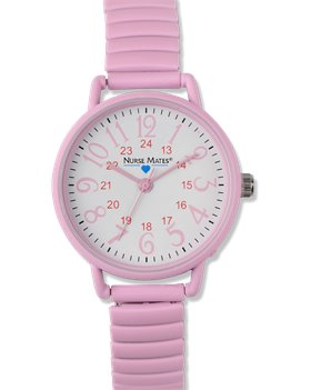 Pink Nurse Mates Expendable Watch