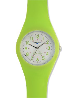 Lime Nurse Mates Uni Watch Pink
