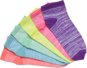 Multi Nurse Mates Softee Socks 6-pack