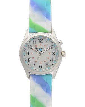 Blue Mint Nurse Mates Light Up Watch - Abstract