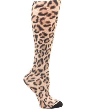 Leopard Nurse Mates Compression 360 Sock