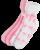 Nursemates Heavenly Hearts Slipper Sock
