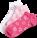 Nursemates Pink Heart Ribbons 3-pack anklet