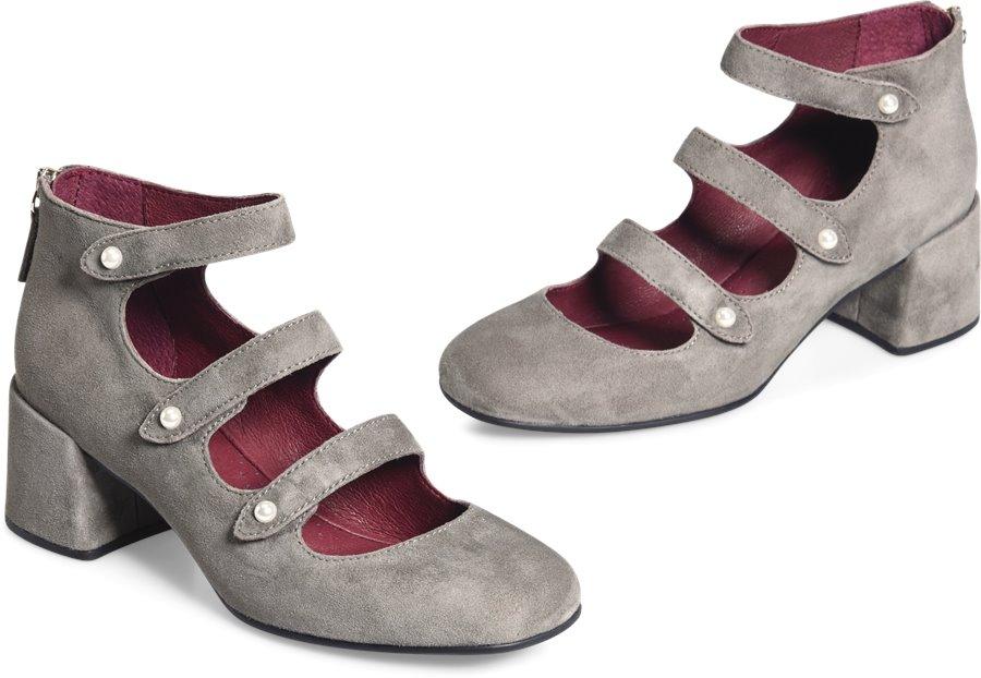 ONO Fluorite : Grey Suede - Womens