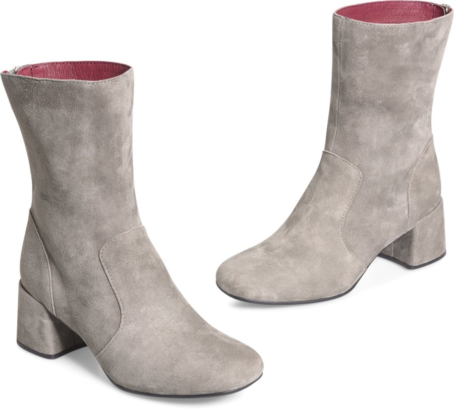 ONO Florence : Grey Suede - Womens