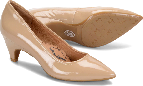 Image of Sofft Altessa II : Sand Patent - Womens
