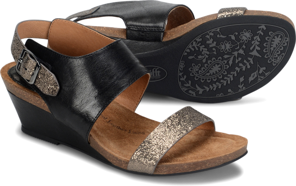 Sofft Vanita : Black Copper - Womens