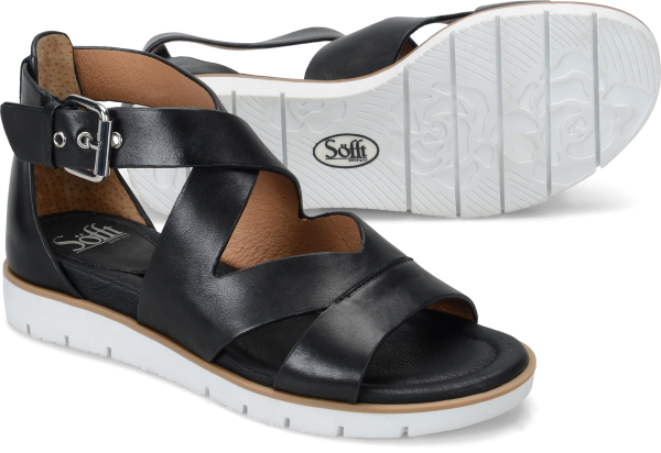 Sofft Mirabelle : Black Leather - Womens