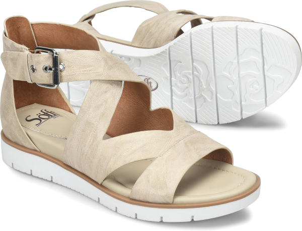 Sofft Mirabelle : Light Grey - Womens