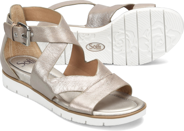 Sofft Mirabelle : Anthracite Metallic - Womens