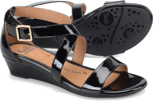Sofft Innis : Black Patent - Womens