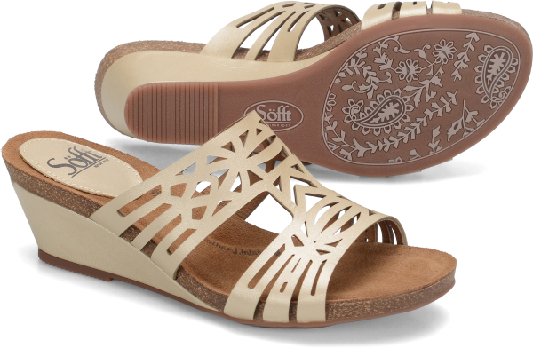 Sofft Venice : Satin Gold - Womens