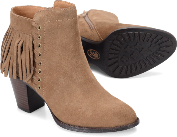 Sofft Winters : Havana Brown Suede