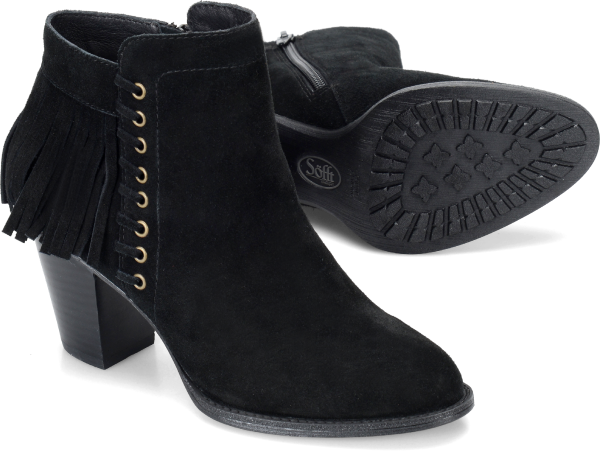 Sofft Winters : Black Suede