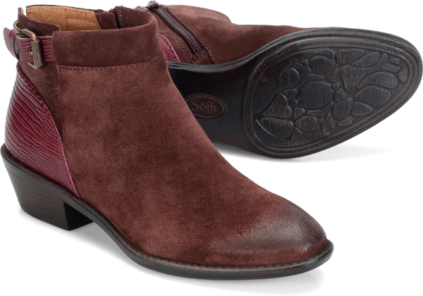 Sofft Vasanti : Berry Suede