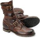 Vintage Men's Shoes - Isaac in Dark Brown