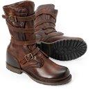 Vintage Women's Shoes - Jennifer Tanker Boot in Dark Brown