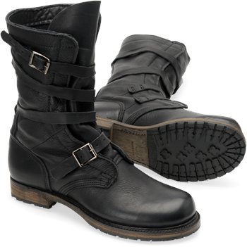 Black Vintage Jennifer  Tanker Boot