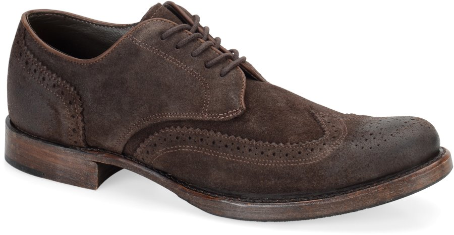 Vintage Langdon II : Chocolate Oiled Suede - Mens