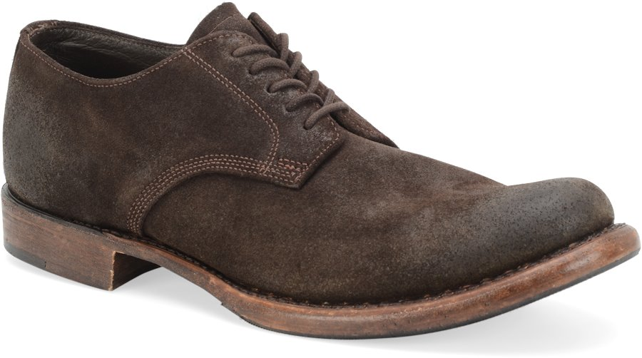 Vintage Judson II : Chocolate Oiled Suede - Mens