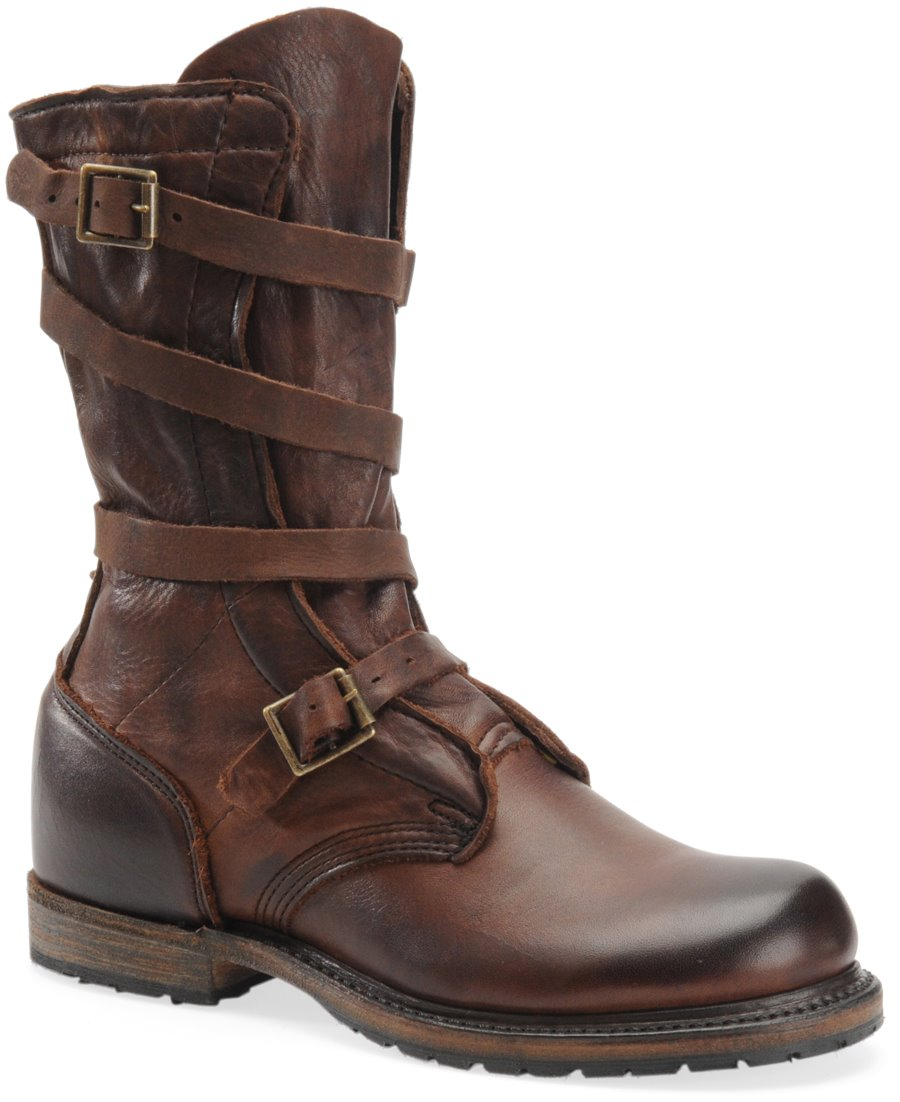 Vintage Jennifer  Tanker Boot : Dark Brown - Womens