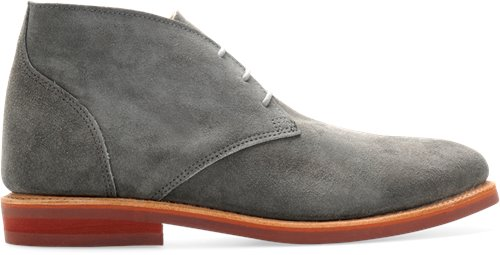 Grey Suede Walk-Over Wilfred