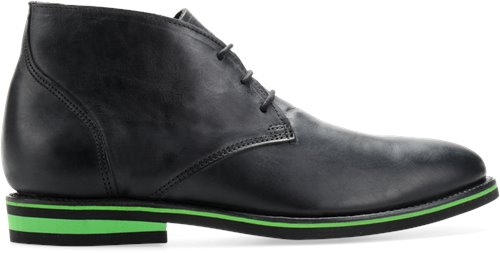 Charcoal Vintage/Green Mid Walk-Over Wilfred