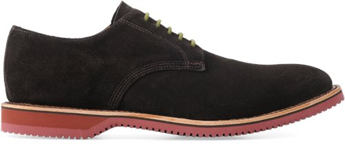Chocolate Suede Walk-Over Chase