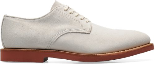 White Suede Walk-Over Abram