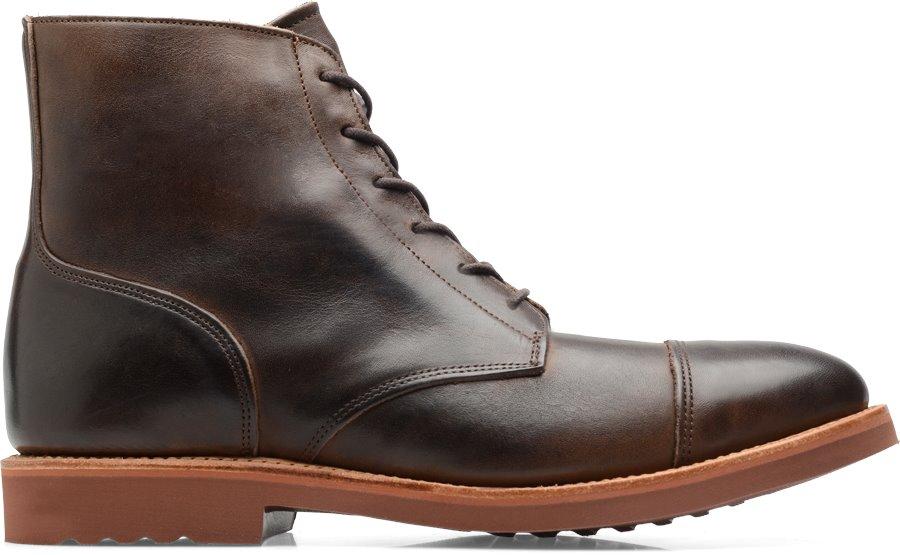 Walk-Over Humboldt II : Dark Brown - Mens