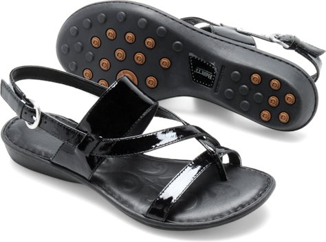 Black Patent Born Minda