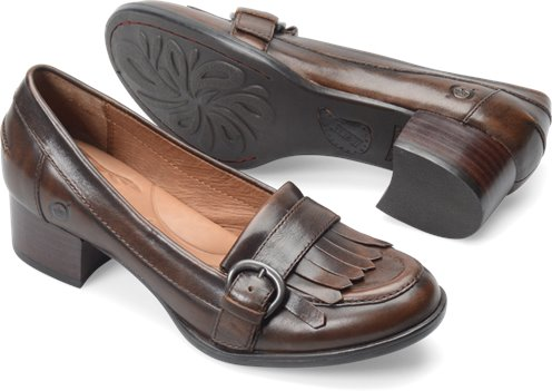 Cognac Burnished Born Lissette