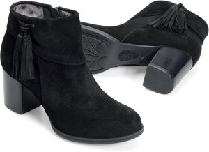 Black Suede  Born Mauvide