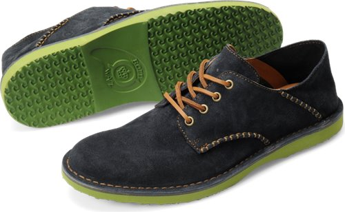 Navy Green Suede Born Gleason