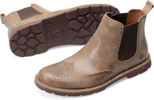 Taupe Suede Born Starky